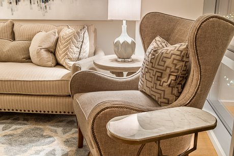 Accent chairs, sofas, occasional tables, lamps - get it all at Cantrell Furniture Design Center store!